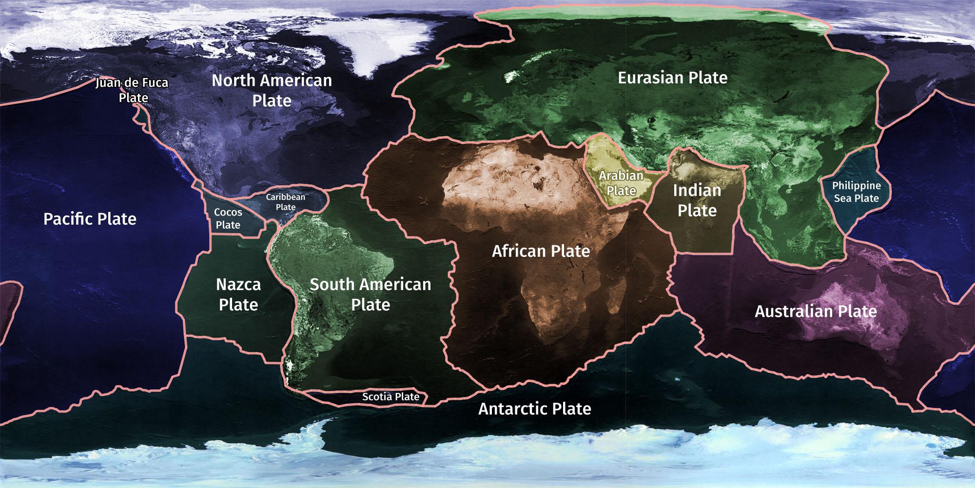 #026 Tectonics plates